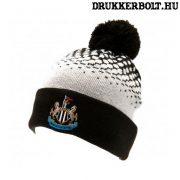 Newcastle United szurkolói kötött sapka (fekete) - hivatalos Toon termék