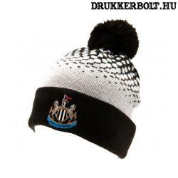 Newcastle United szurkolói kötött sapka (bojtos) - hivatalos Toon termék
