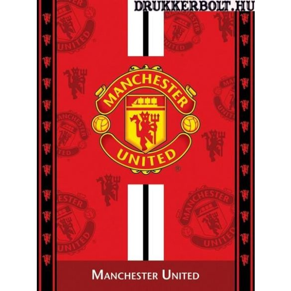Manchester United pihe-puha óriás takaró - eredeti, hivatalos ajándéktárgy