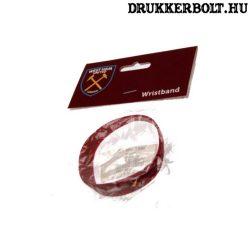 West Ham United csuklópánt / szilikon karkötő - eredeti szurkolói termék