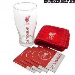 Liverpool FC bár szett - eredeti, liszenszelt klubtermék!