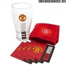 Manchester United bár szett - eredeti, liszenszelt klubtermék!