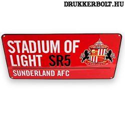 Sunderland AFC utcanévtábla - eredeti Sunderland tábla