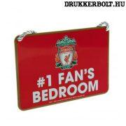 """Liverpool tábla """"elsőszámú szurkoló"""" - """"Liverpool szurkoló szobája"""" tábla"""