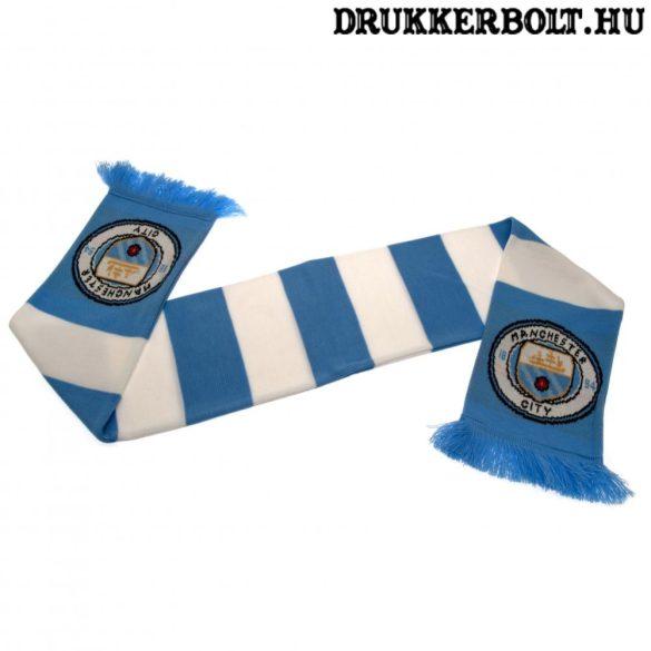 Manchester City kötött sál - Man City  szurkolói sál