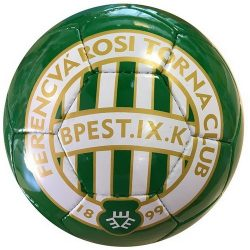 Ferencváros labda - normál (5-ös méretű) Fradi címeres focilabda