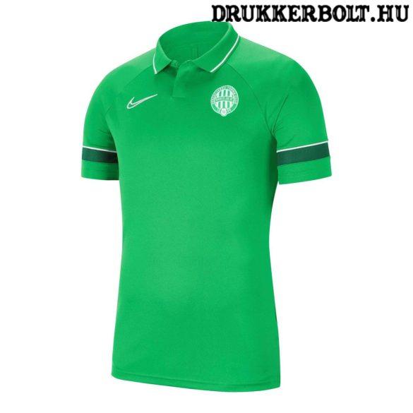 Nike Ferencváros galléros póló / mez - Fradi címeres sötétzöld szurkolói mez