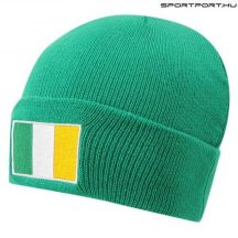 Ireland szurkolói kötött sapka - hivatalos Írország termék