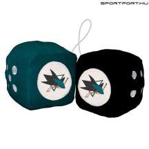 San Jose Sharks plüss dobókocka - eredeti NHL termék