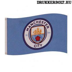 Manchester City óriás zászló (eredeti, hivatalos klubtermék)