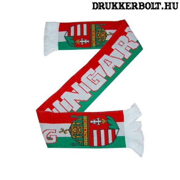 Hajrá Magyarország sál - Hungary kötött sál ( magyar válogatott sál)