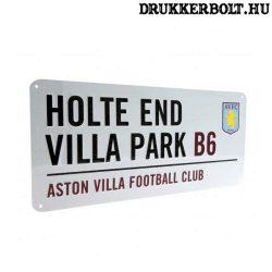 Aston Villa tábla - eredeti Aston Villa utcatábla
