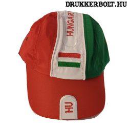 Magyarország Baseball sapka - magyar válogatott baseballsapka Hungary felirattal (sötétszürke)
