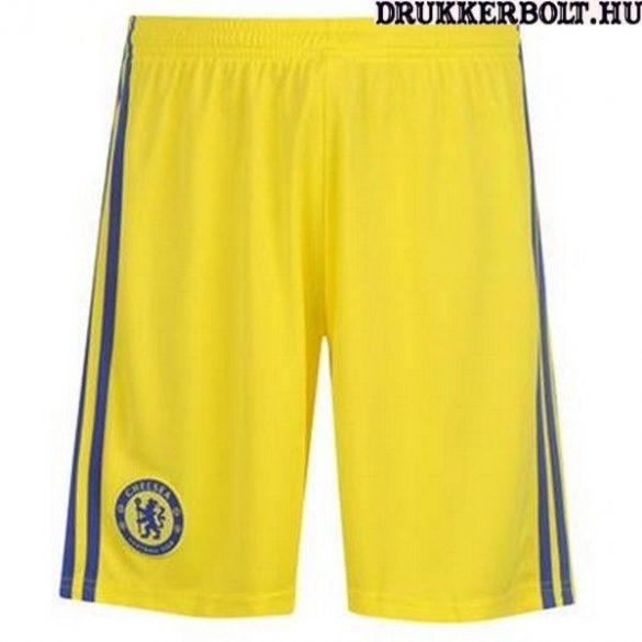 Chelsea Fc rövidnadrág - eredeti, Adidas klubtermék (sárga Chelsea short)