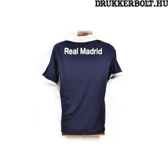 Real Madrid mez / póló (sötétkék, galléros)  - eredeti Real Madrid szurkolói mez