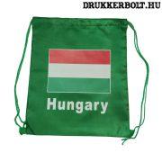 Magyarország tornazsák / zsinórtáska - hivatalos magyar szurkolói termék (zöld)