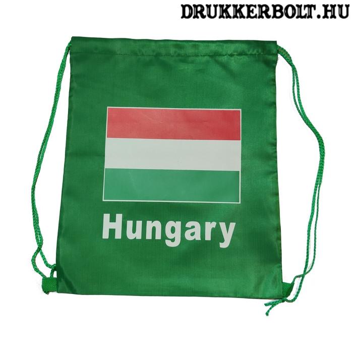 a4353595be Magyarország tornazsák / zsinórtáska - hivatalos magyar szurkolói termék  (zöld)