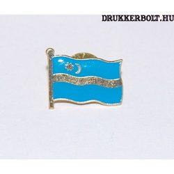 Székely zászló kitűző - zászló alakú jelvény