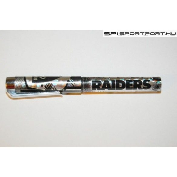 """Oakland Raiders """"csillivilli"""" golyóstoll (hivatalos, eredeti NFL termék)"""