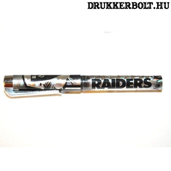 """Oakland / Las Vegas Raiders """"csillivilli"""" golyóstoll (hivatalos, eredeti NFL termék)"""