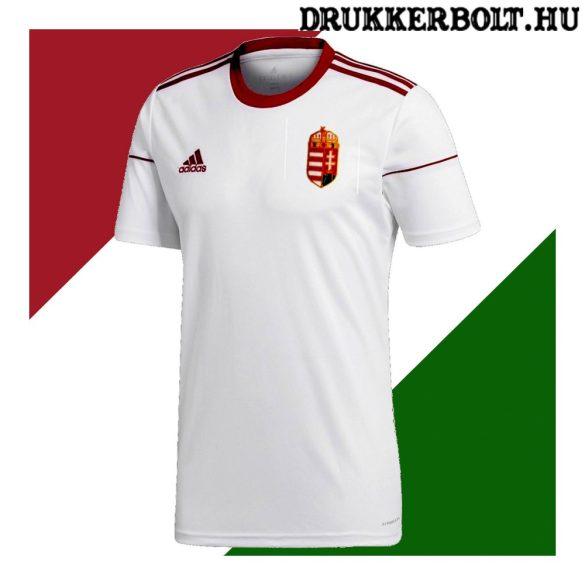 Adidas Magyar válogatott szurkolói mez (idegenbeli) - Adidas Magyarország mez hímzett címerrel (fehér)