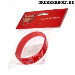 Arsenal csuklópánt / Arsenal szilikon karkötő