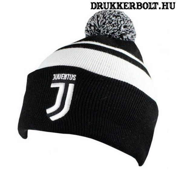 Juventus bojtos sapka - eredeti, hivatalos Juve kötött sapka / sísapka