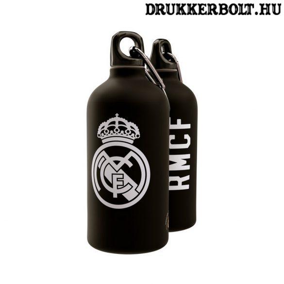 Real Madrid fekete aluminium kulacs / termosz (hivatalos,hologramos klubtermék)