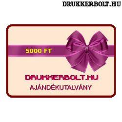 Drukkerbolt.hu ajándékutalvány 5000 Ft.