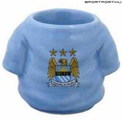 Manchester City Shirt  - kerámia tojástartó / kupicás pohár, felespohár