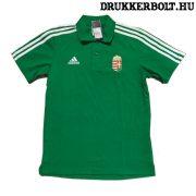Adidas Hungary / Magyarország póló (galléros) - Magyarország szurkolói ingnyakú póló (zöld)