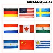 Válogatott óriás zászló - nemzeti válogatottak zászlói 150*90 cm (kérjük válasszon a legördülő menüből)