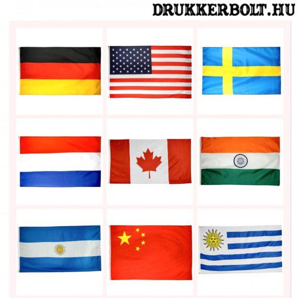 Válogatott óriás zászló - nemzeti válogatottak zászlói 150x90 cm (kérjük válasszon a menüből)