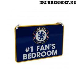 """Chelsea tábla """"elsőszámú szurkoló"""" - """"Chelsea szurkoló szobája"""" tábla"""
