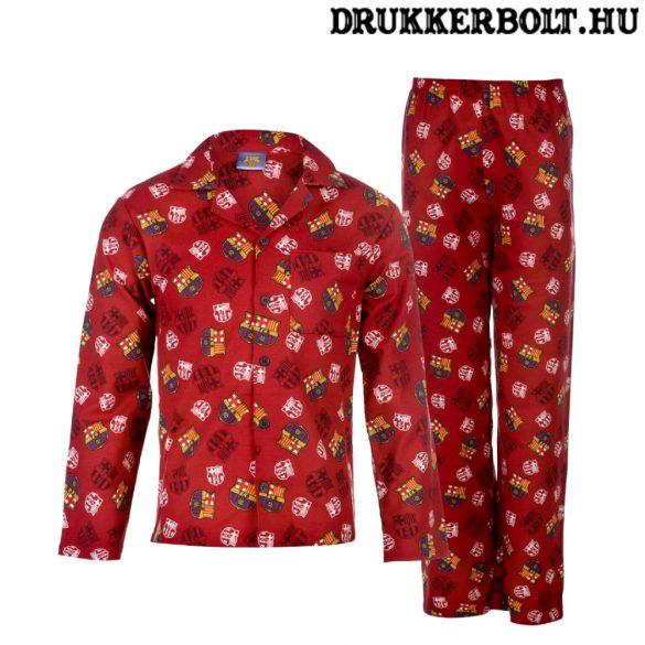 FC Barcelona gyerek pizsama (pamut) - eredeti, hivatalos klubtermék!