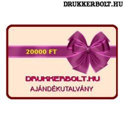 Drukkerbolt.hu ajándékutalvány 20000 Ft.