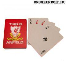 Liverpool FC kártya - hivatalos, liszenszelt termék