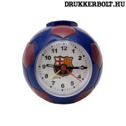 Fc Barcelona ébresztőóra - focilabda alakú ébresztőóra