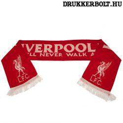 """Liverpool """"Champions"""" szurkolói sál - eredeti, limitált kiadású Liverpool sál"""