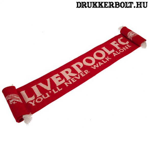 """Liverpool """"You never walk alone"""" szurkolói sál - eredeti, limitált kiadású Liverpool sál"""