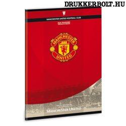 Manchester United kockás füzet ( A/4 méretben) - hivatalos MU termék