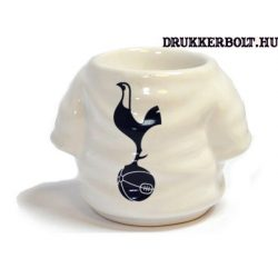 Tottenham Hotspur kupicás pohár, felespohár / Spurs kerámia tojástartó (mez alakú)
