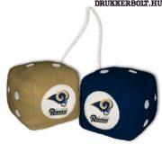 St Louis /Los Angeles Rams plüss dobókocka - eredeti NFL termék