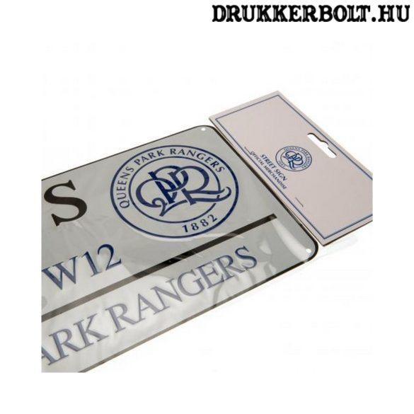 Queens Park Rangers utcanévtábla - eredeti QPR tábla