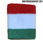 Magyar nemzeti színű csuklószorító - eredeti szurkolói termék