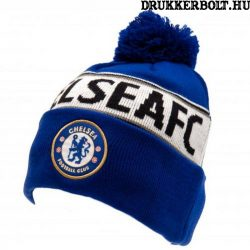 Chelsea FC sapka - Chelsea szurkolói kötött sapka (CFC bojtos sísapka)