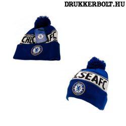 Chelsea FC sapka - Chelsea kötött sapka (CFC bojtos sísapka)