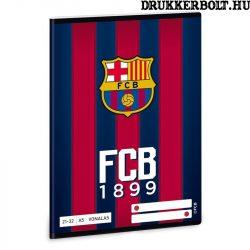 FC Barcelona vonalas füzet A/5 méretben (2132 4.osztályos vonalazás)