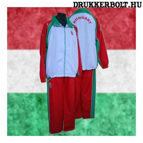 Magyar válogatott melegitő - Magyarország /Hungary szurkolói melegítő szett (piros-fehér)
