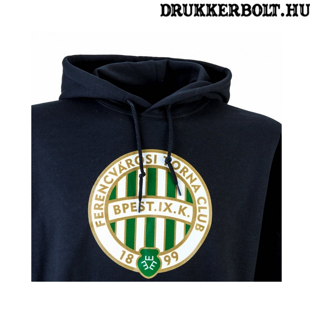 Ferencváros kabát Fradi dzseki FTC kabát kapucnival (zöl